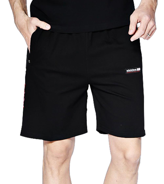 Aleklee мужские хлопчатобумажные шорты из полиэстера A-051