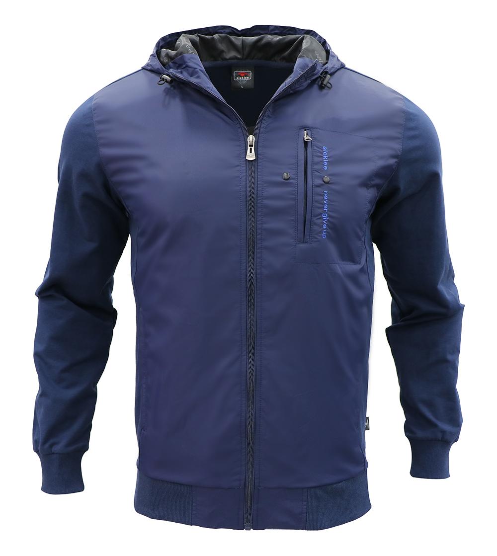 Aleklee мужская куртка на молнии из полиэстера AL-7808