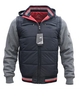 Aleklee мужская куртка большого размера AK-4074#B