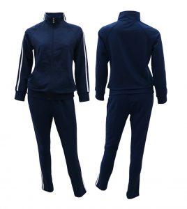 Aleklee женский спортивный костюм в полоску AL-1813W#