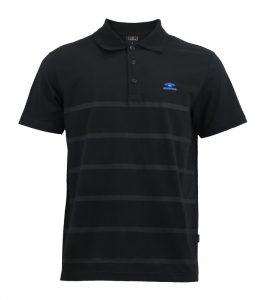 Aleklee футболка поло с узкими полосками AL-5020#