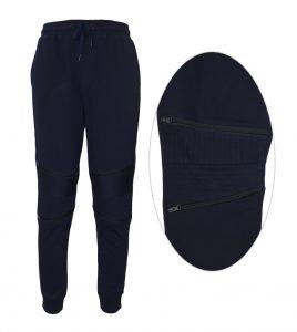 Aleklee брюки-бегунки на молнии SS18-21#