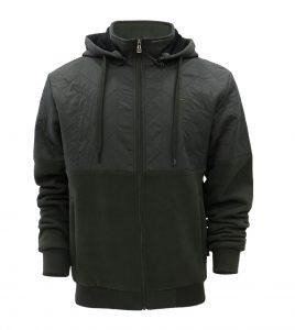 Aleklee двухцветная гибридная куртка AL-1942#