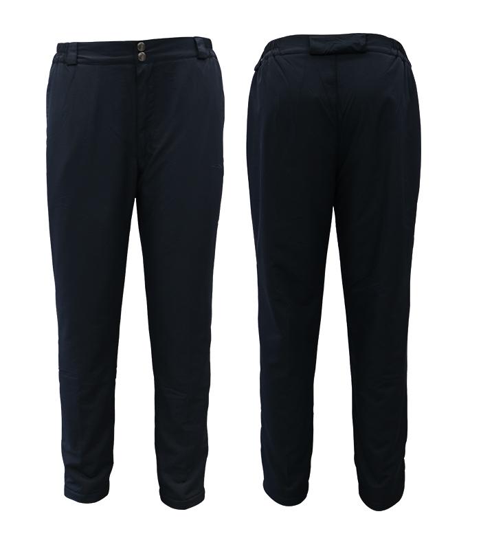 Aleklee брюки из плотного полиэстера на резинке AL-1954#