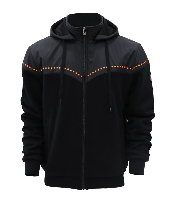 Aleklee гибридная куртка с симметричным принтом AL-7834#