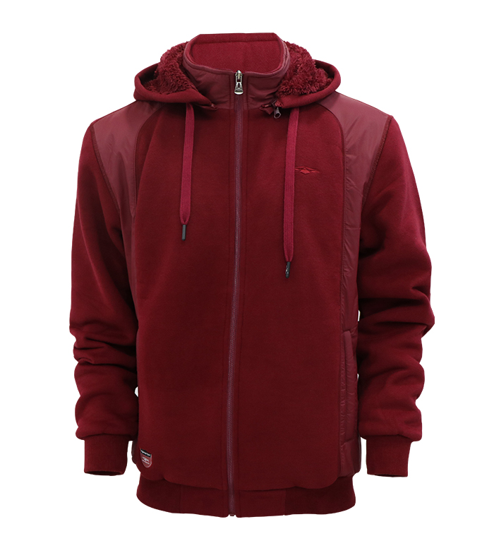Aleklee куртка с капюшоном в стиле пэчворк аналогичного цвета AL-1939 #